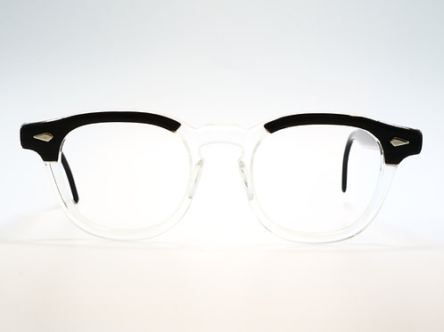 TART OPTICAL(VINTAGE) ARNEL 46-20 col.BLACK WOOD C.B
