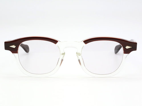 JULIUS TART OPTICAL AR 44-22 col.Red Wood/Light Grey