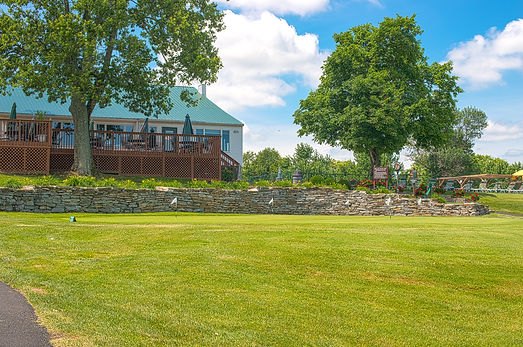 The club house at the Maysville Country Club in Maysville, Kentucky