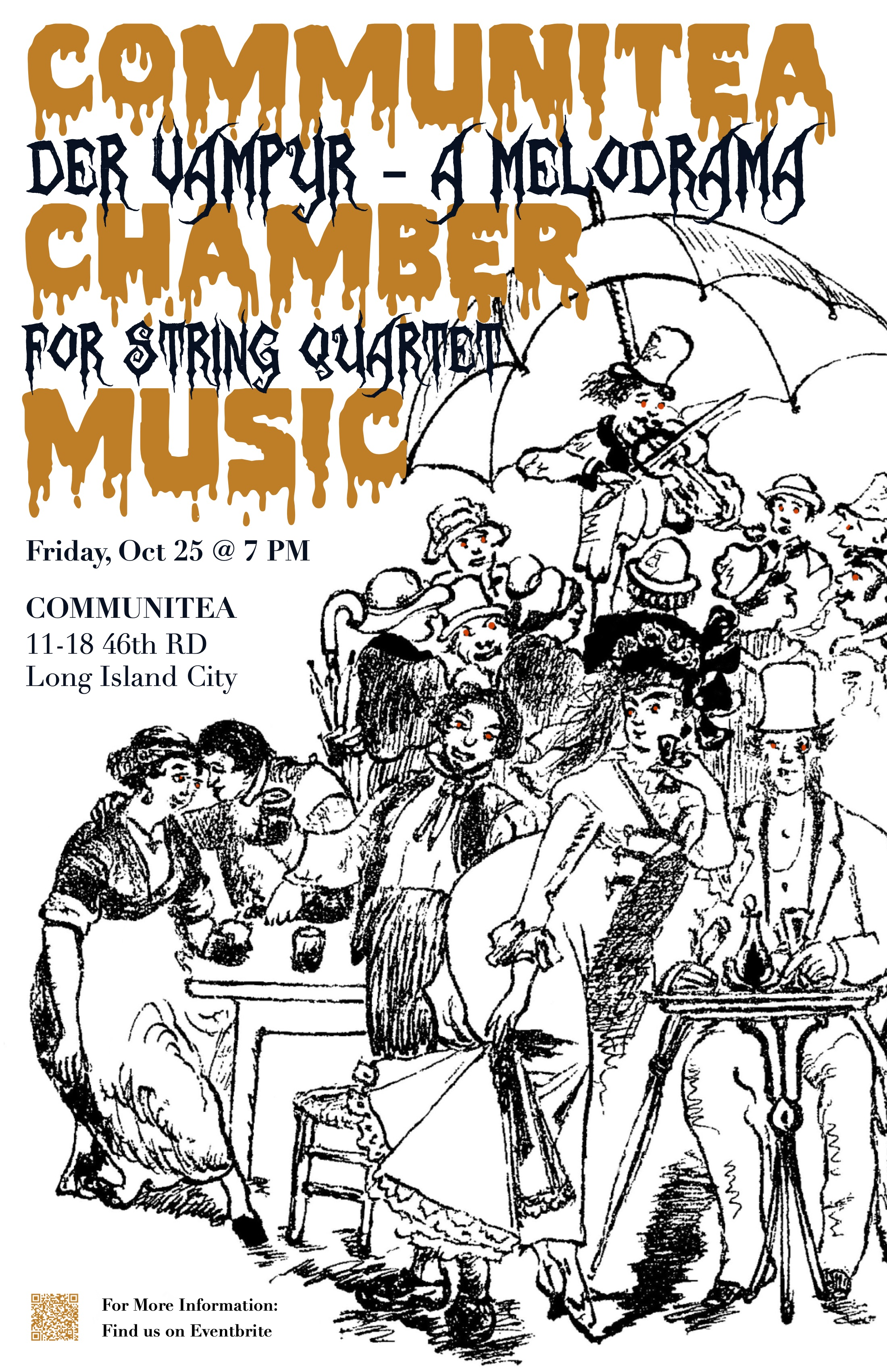 Communitea Chamber Music Poster - Der Va