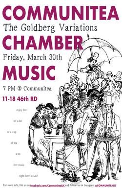 Communitea Chamber Music Poster - March.