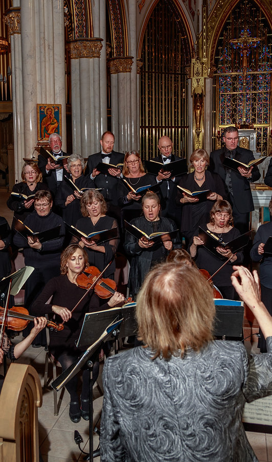 Musikanten Montana in Cathedral of St. Helena