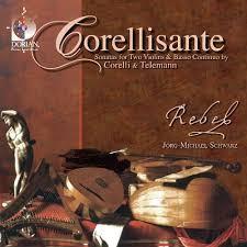Corellisante: Sonatas for two violins & basso continuo