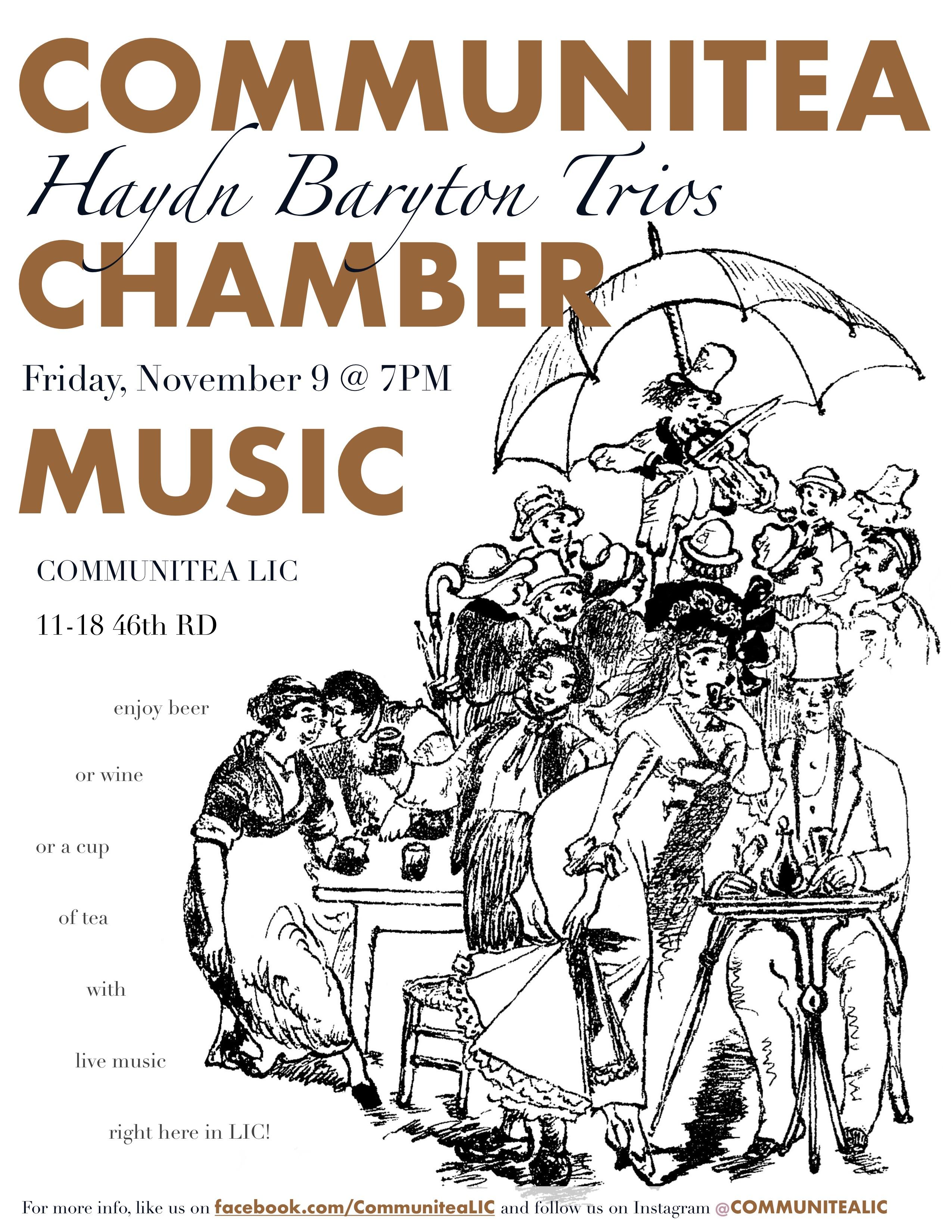 Communitea Chamber Music Poster - 11_18.