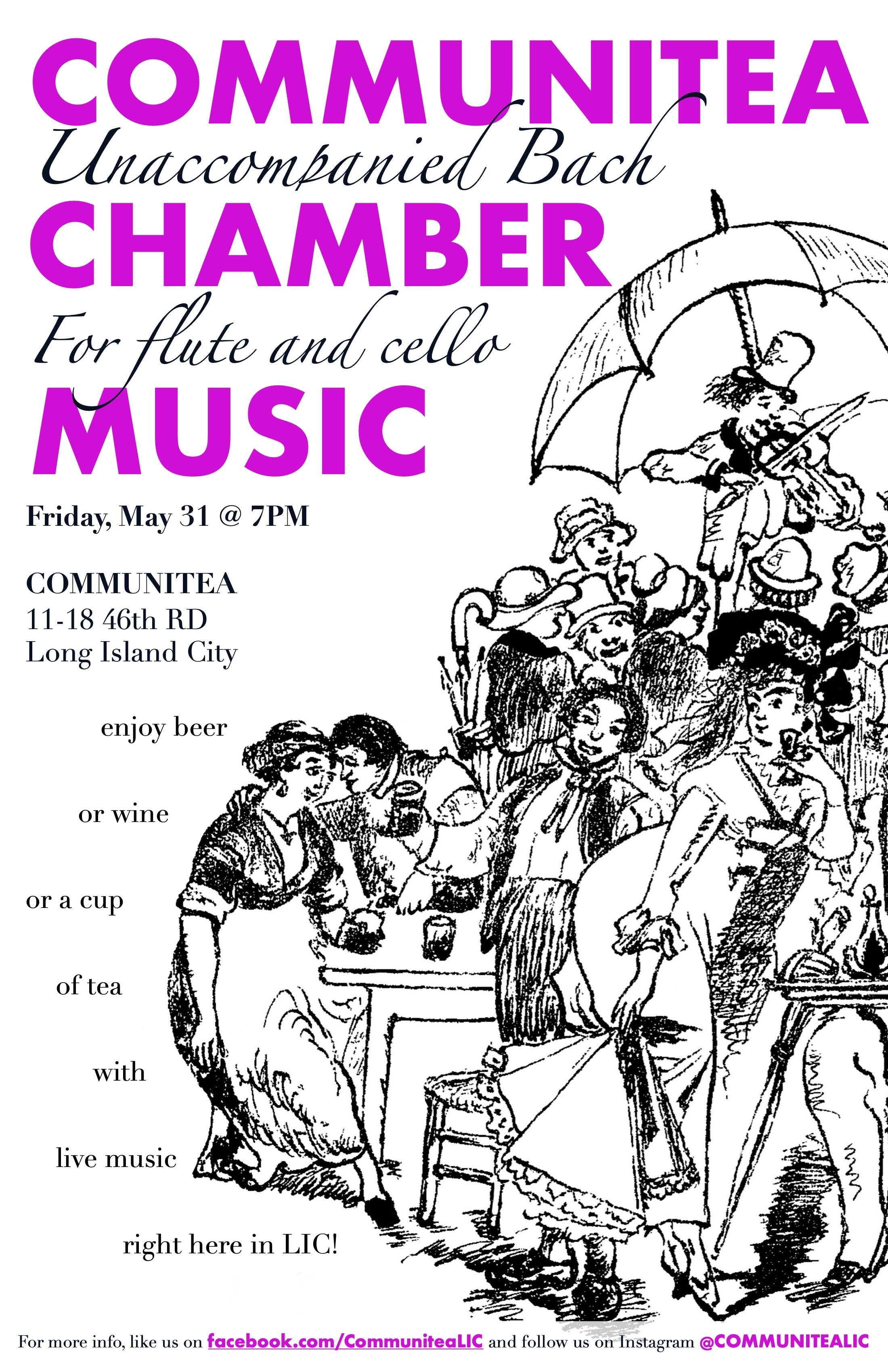 Communitea Chamber Music Poster - May 20