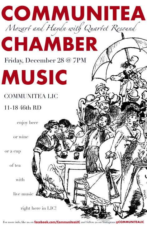 Communitea Chamber Music Poster - 12_18