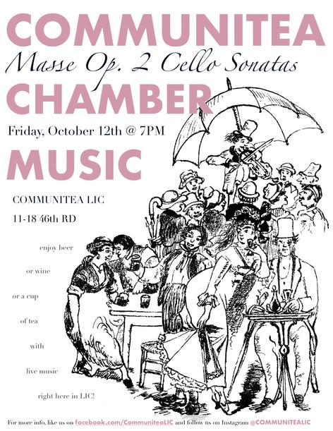 Communitea Chamber Music Poster - Vertic