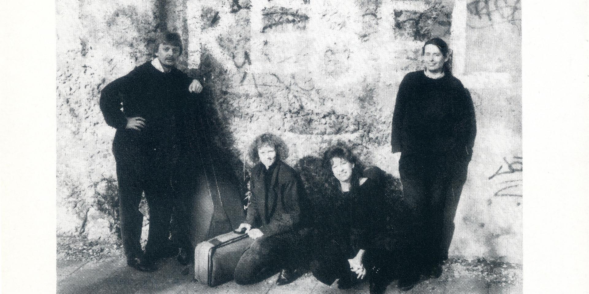 Ensemble Rebel's first publicity brochure  (Utrecht, 1991)