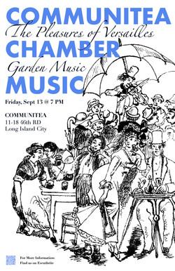 Communitea Chamber Music Poster - 9:19