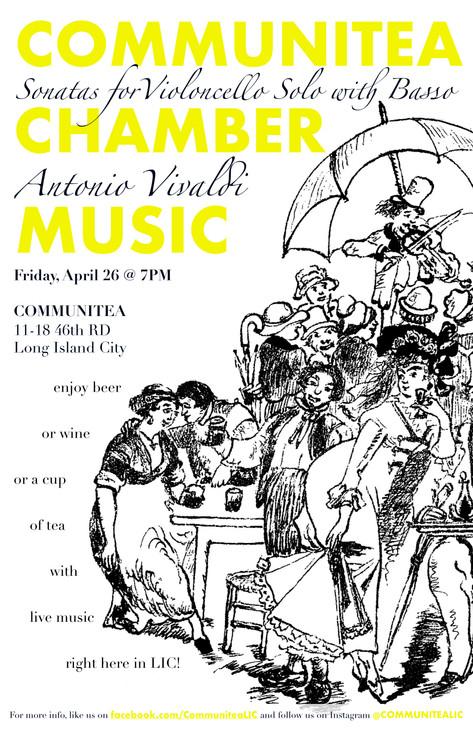 Communitea Chamber Music Poster - April.
