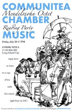Communitea Chamber Music Poster - 7:19