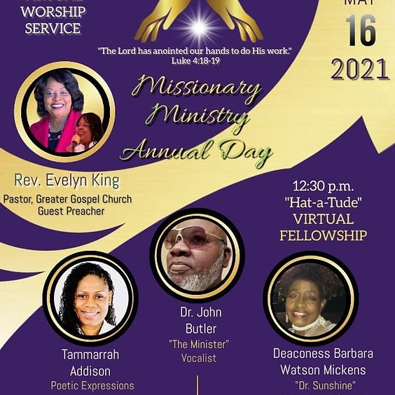 Missionary Ministry Annual Day