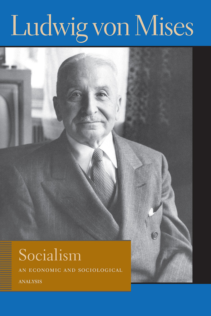 Mises on the philosophical differences between socialism and liberalism