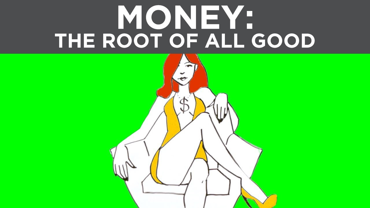 Think money is root of evil? It is not. Meet Money, before she was violated by Greed & Envy, she helped people trade value for value, fueling prosperity, opportunity, and freedom.