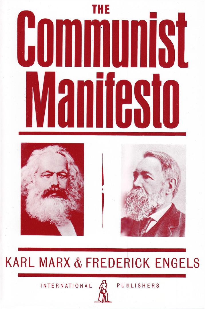 Executive summary of Marx's famous political manifesto