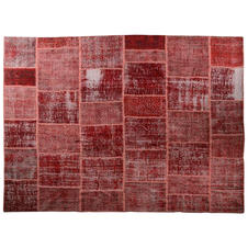 Patchwork Red