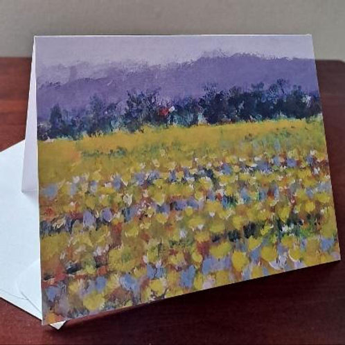 "4 ""Eternal Spring"" note cards"