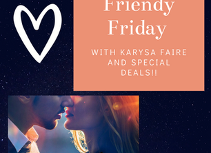 Friendy Friday, NEWS, and a GIVEAWAY
