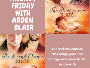 Friendy Friday with Arden Blair and GIVEAWAY!