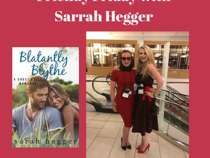 Friendy Friday with Sara Hegger AND A GIVEAWAY!