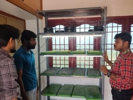 M/s Offing Agro Jallikattu winner visited MABIF
