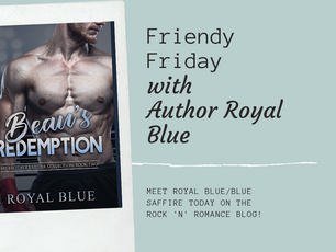 Friendy Friday and GIVEAWAY with Royal Blue/Blue Saffire!