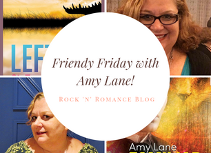 Friendy Friday with Amy Lane and NEWS!