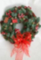 Венок Рождественский из хвои