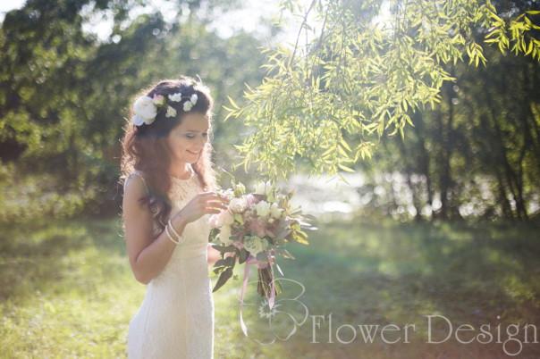 цветы в прическу 3