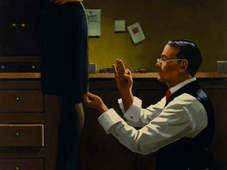 Jack Vettriano - The Devoted Dressmaker