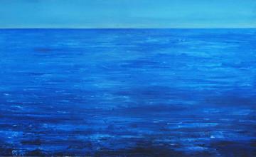 """""""У морі корабі 2""""  Олія,полотно.  150х11"""