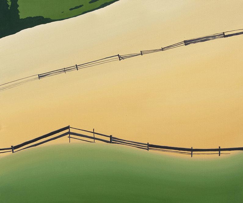 """""""На схилі""""  Акрил, полотно. 100х120 см."""