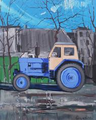 """""""Трактор"""" Олія, полотно.  120х150 см. 20"""