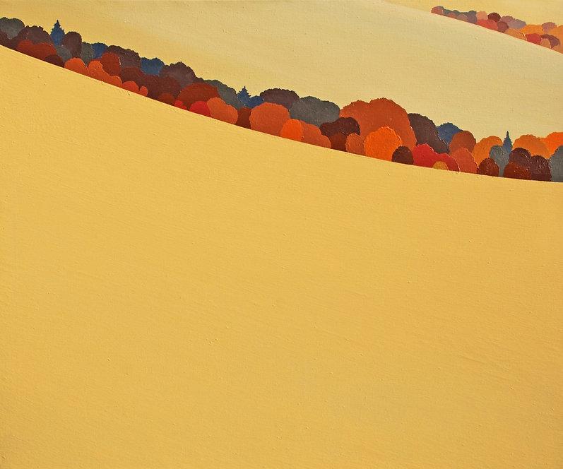 """Смужка лісу"" Акрил, полотно. 100х120 см"