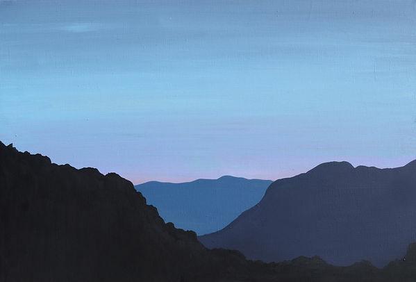 """""""Синевірський перевал. Схід сонця"""" Акрил"""