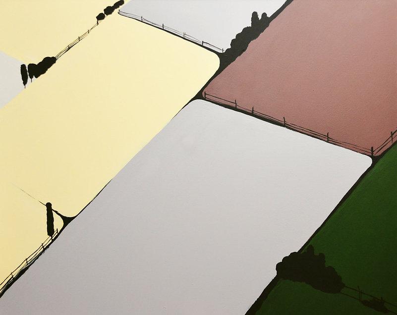"""""""Городи"""", Акрил, полотно. 100х120 см. 20"""