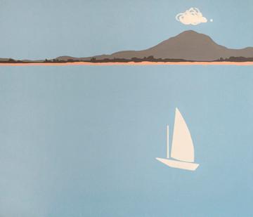Італійський горизонт, полотно, акрил, 95