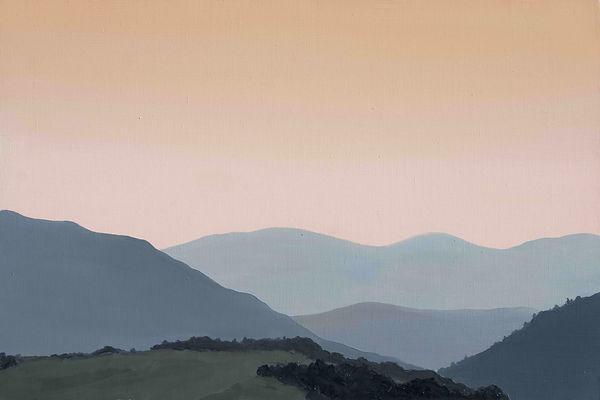 """""""Синевирський перевал. Захід сонця""""  Олі"""