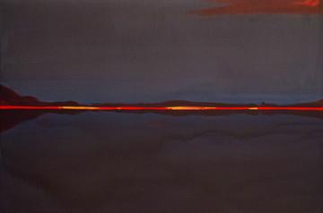 """Червоний горизонт""  Акрил,полотно. 150х"