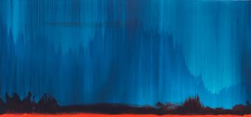 Червоний сніг, 140х65см, полотно,акрил,