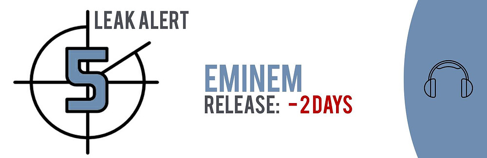 """TECXIPIO leak alert. Eminem's highly anticipated new album """"Revive"""" has been leaked to P2P networks - two days too early!"""