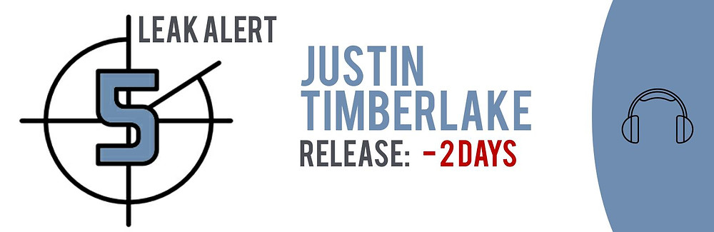 """Teaser image of the TECXIPIO Leak alert. Justin Timberlake's highly-anticipated album """"Man of the Woods"""" has been leaked to P2P networks two days ahead of schedule"""