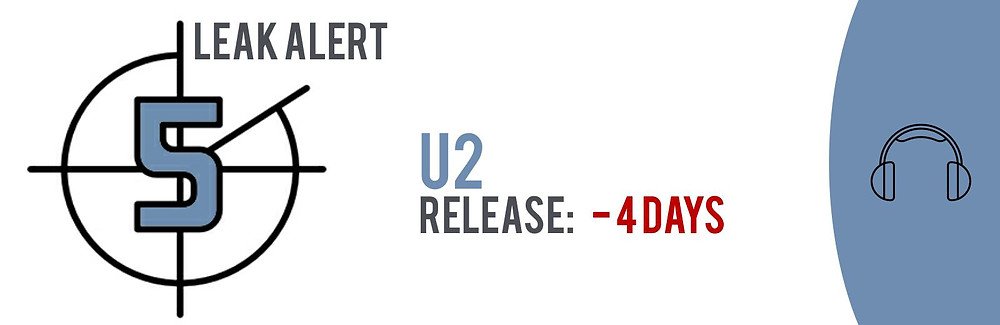 TECXIPIO leak alert. U2's fourteenth studio album 'Songs of Experience' has leaked. From November 27 up to November 30, 2017, 11 torrent files were made available in P2P networks.