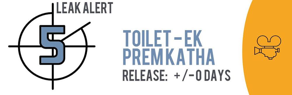 """Teaser image of the TECXIPIO Leak Alert: Bollywood blockbuster """"Toilet: Ek Prem Katha"""""""