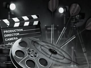 Link-Bild  zum  Job Bereich  Marketing und Analyse bei dem IT-Unternehmen TECXIPIO in Karlsruhe. Auf dem Bild ist eine Filmrolle sowie eine Regieklappe zu sehen.