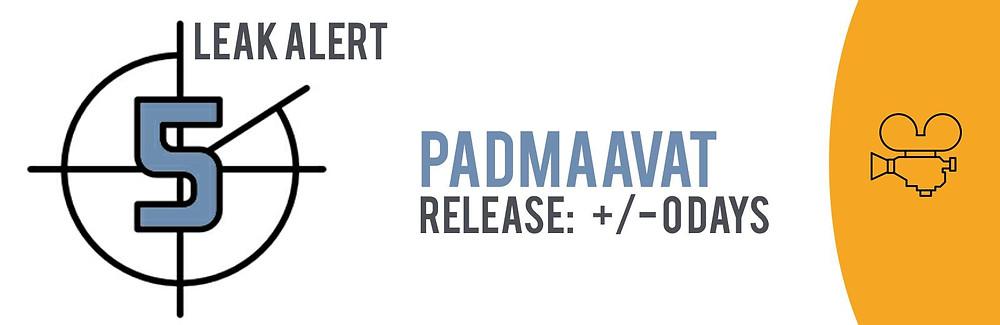 The TECXIPIO leak alert. Sanjay Leela Bhansali's movie 'Padmaavat' starring the famous actress Deepika Padukone leaked on the day of its theatrical release!