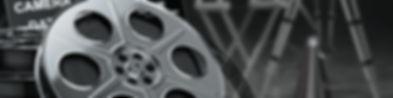 Headerbild des Job Bereiches Sales und Marketing bei der IT-Firma TECXIPIO in Karlsruhe. Auf dem Bild zu sehen ist eine Filmrolle sowie einige verschwommene Stative am Set.