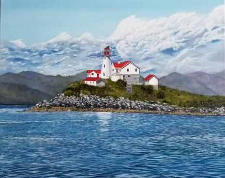 Green Island Lighthouse BC