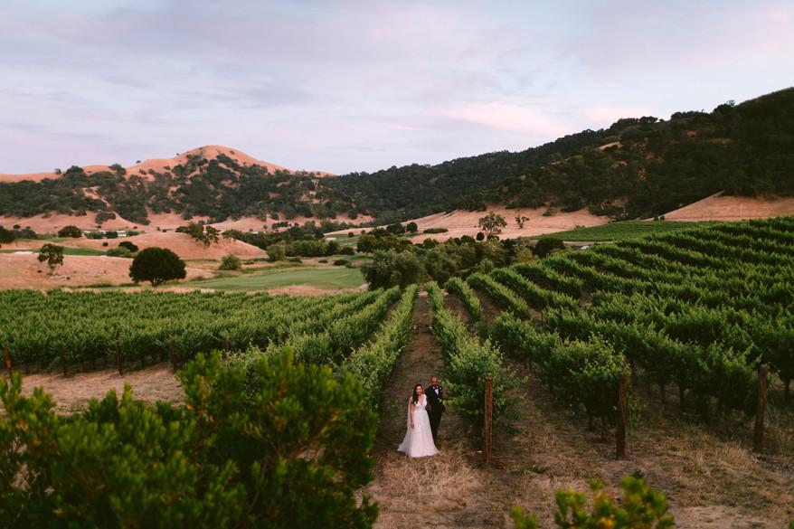 Stephanie & Jose, Clos LaChance Winery