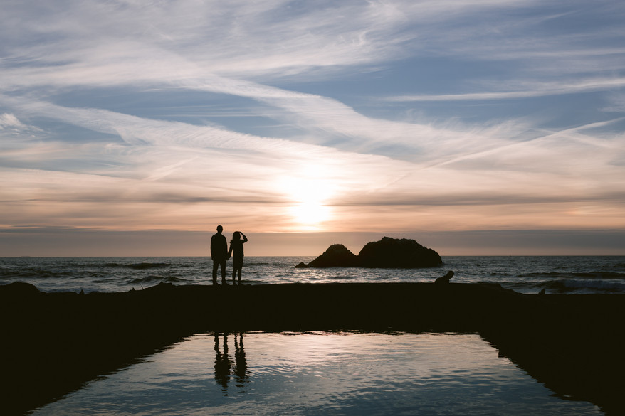 Frances and Rob, Lands End
